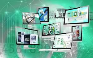 Mit Industrie 4.0 Technologien vernetzt ARBURG Maschinen, Prozesse und Produkte