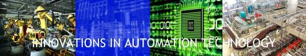 Symbol picture for innovations in automation technology.