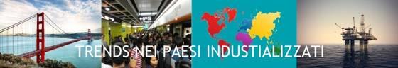 Simbolo di paesi industrializzati.