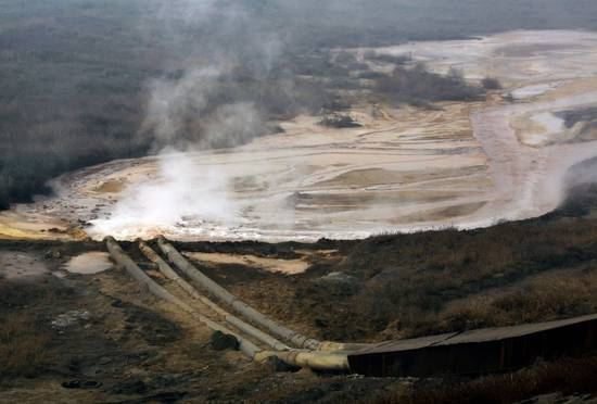Rare earths: Storage and pollution.