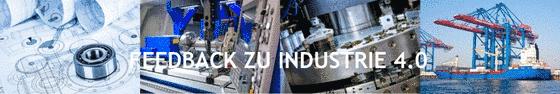 Symbolbild Feedback zu Industrie 4.0.