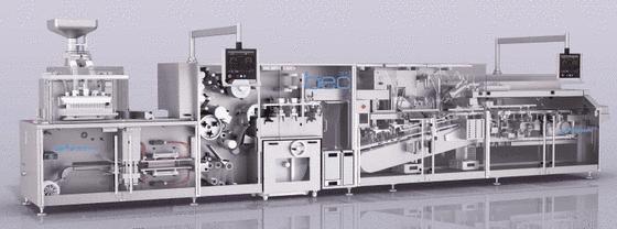 Blistermaschine BEC300 von Uhlmann Pac Systeme.