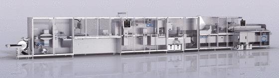 Blistermaschine BLU400 von Uhlmann Pac Systeme.