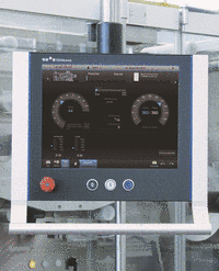 Machine operation Smart Control from Uhlmann Pac Systems.