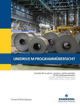 Unidrive M brochure, page 1